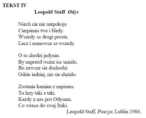 Pytanie Nr 1724 Test Gimnazjalny Język Polski Biblia I